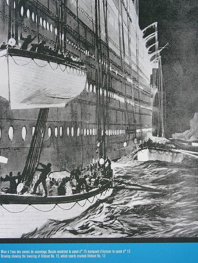 sinking titanic 1912