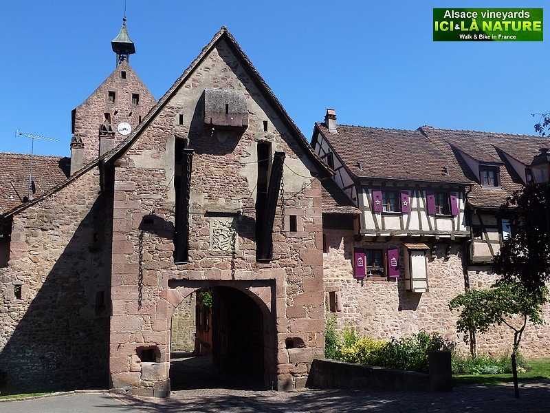 61-medieval village in france alsace