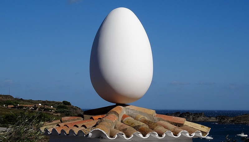 Spain – Catalonia : The Salvador Dalí House-museum in Port