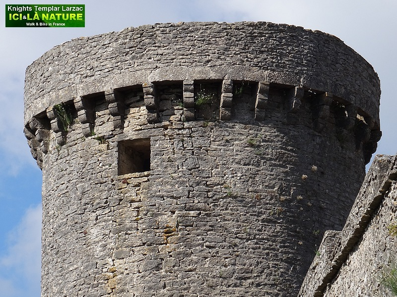 03- tour d' angle chateau fort