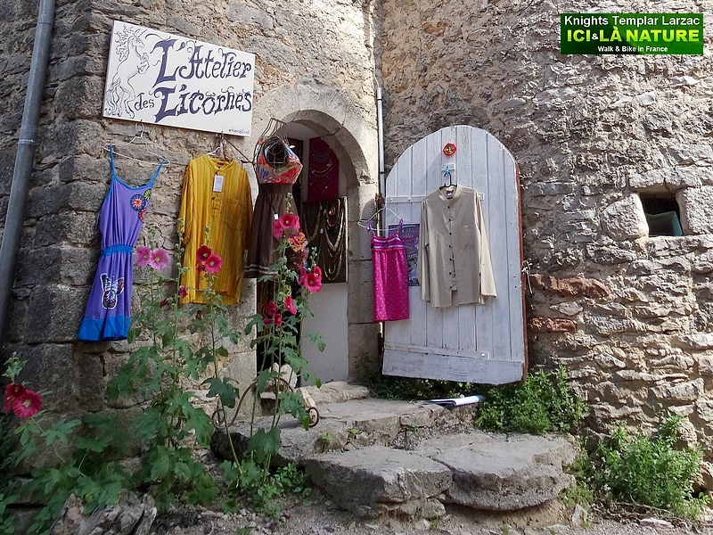 29- atelier des licornes la couvertoirade
