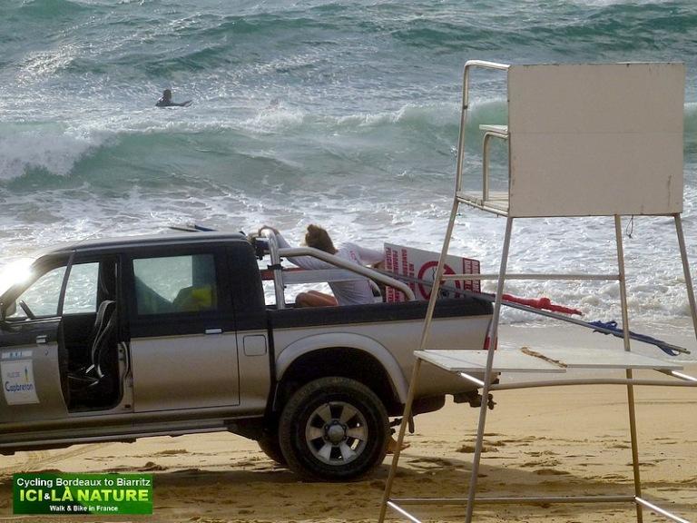 49-biking surf atlantic coast french california