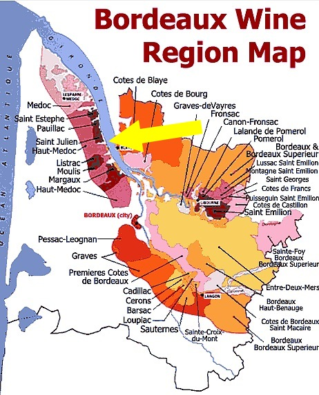 medoc map