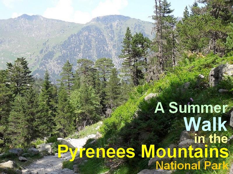 pyrenees mountains hiking trip tour