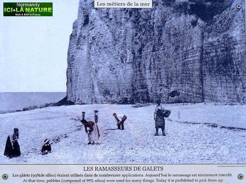 06-carte postale vieux metiers de la mer en normandie