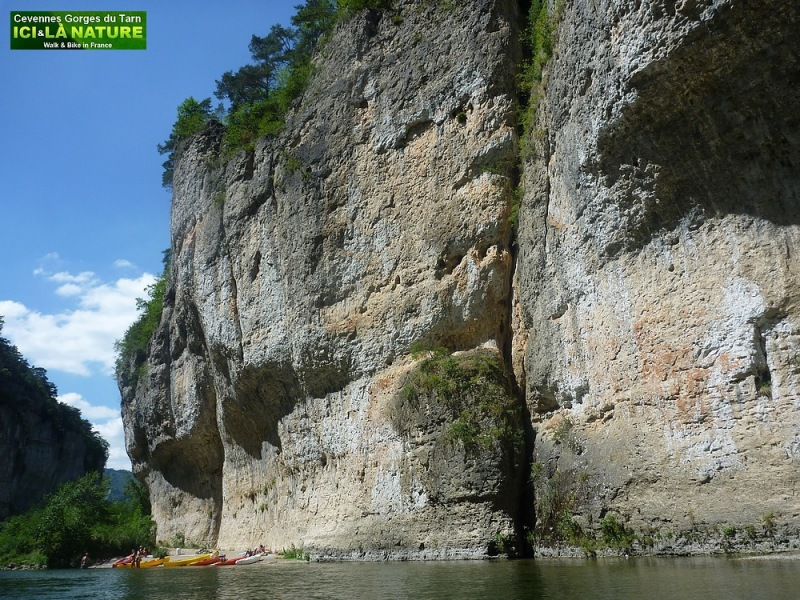 15-gorges canyon  river in france
