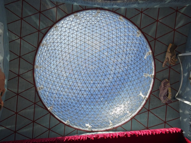 16-coupole du musee dali figueres