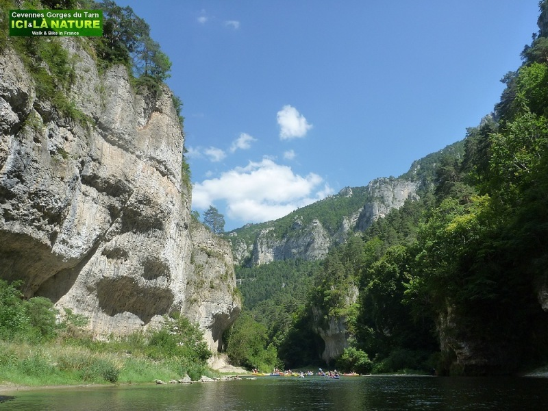 18-canyons rivers in france
