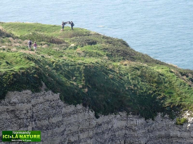 42-où voir des falaises en normandie