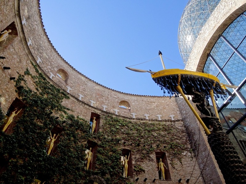 45-walking in spain catalonia dali