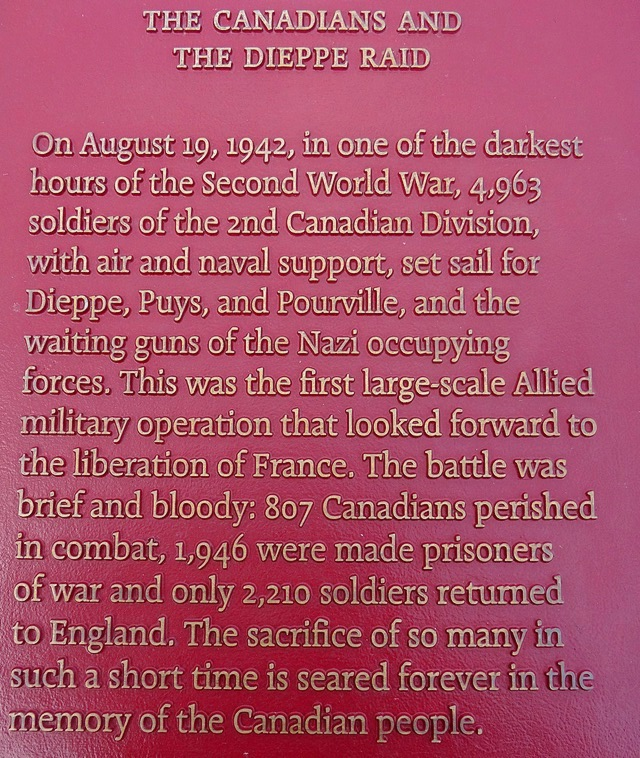 14- the canadians and the Dieppe raid