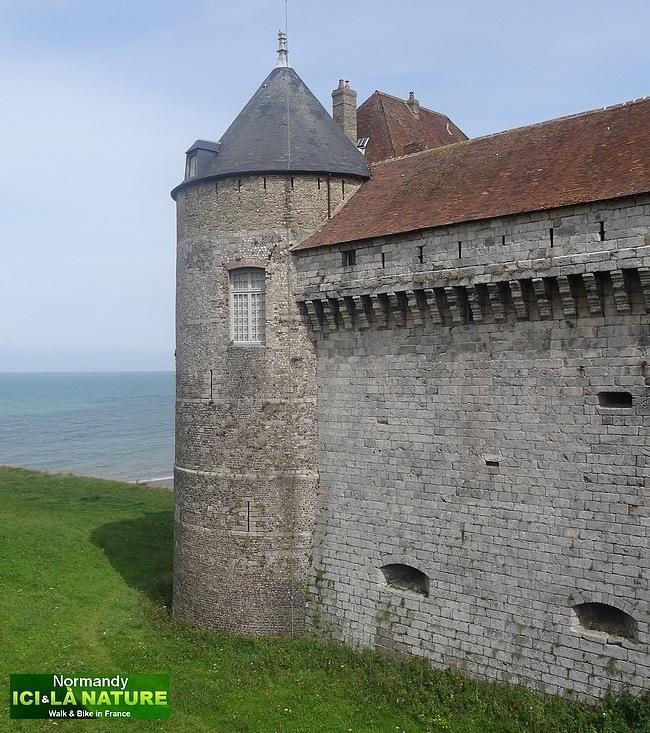 18-vieux chateau en normandie dieppe