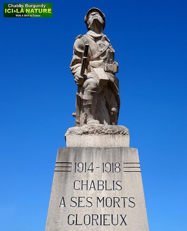 06-chablis monument aux morts