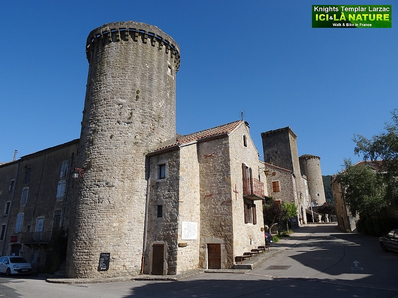 22-fortifications chateau fort templiers
