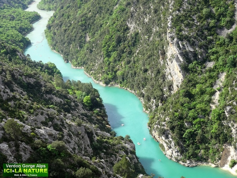 12-bike tour alps verdon gorge