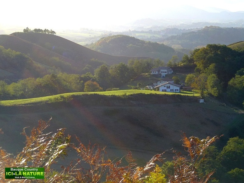 51-PAYSAGE PAYS BASQUE COUNTRY LANDSCAPE
