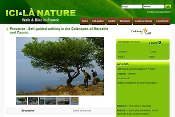 best company walking holidays provence