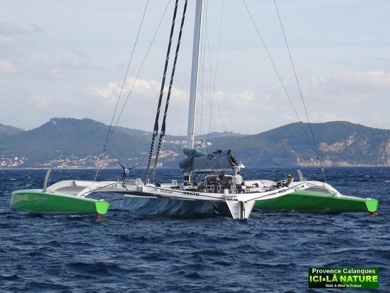 18-race boat mediterranean sea provence