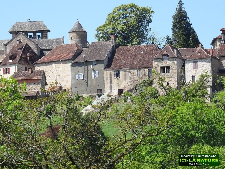 27-curemonte correze village