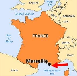 marseille france mediterranean sea