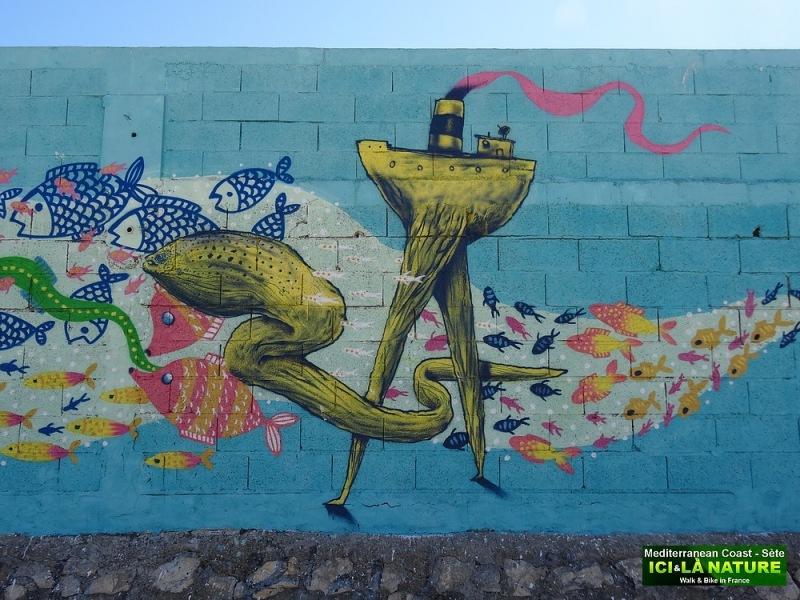 82-STREET ART SETE SOUTH FRANCE
