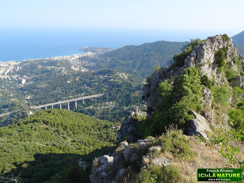 15-panorama landscape french riviera italy