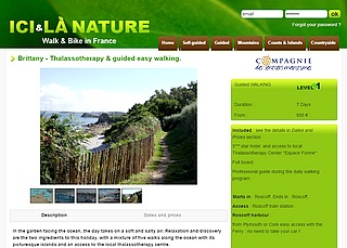 brittany walking tour