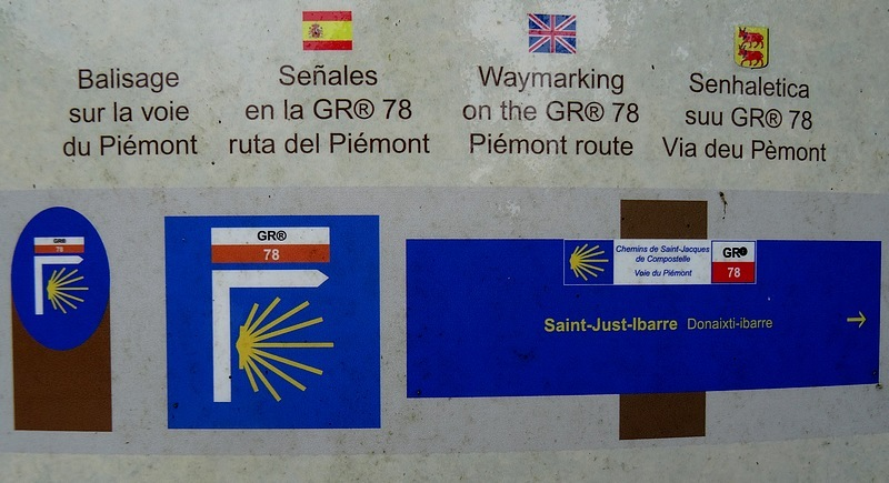 61-waymarking st james way france