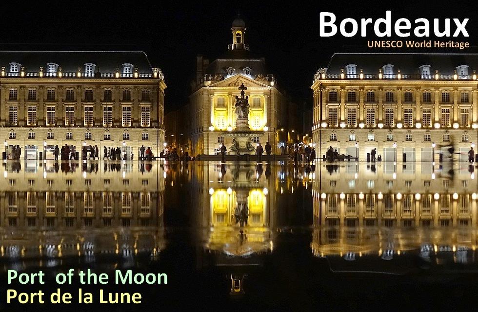 Carte Bordeaux Unesco.South West France Bordeaux City A Walk At Port Of The Moon 50