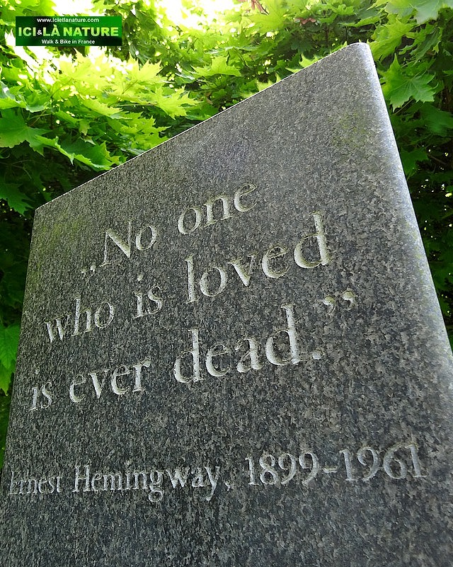 16- No one who is loved is ever dead hemingway