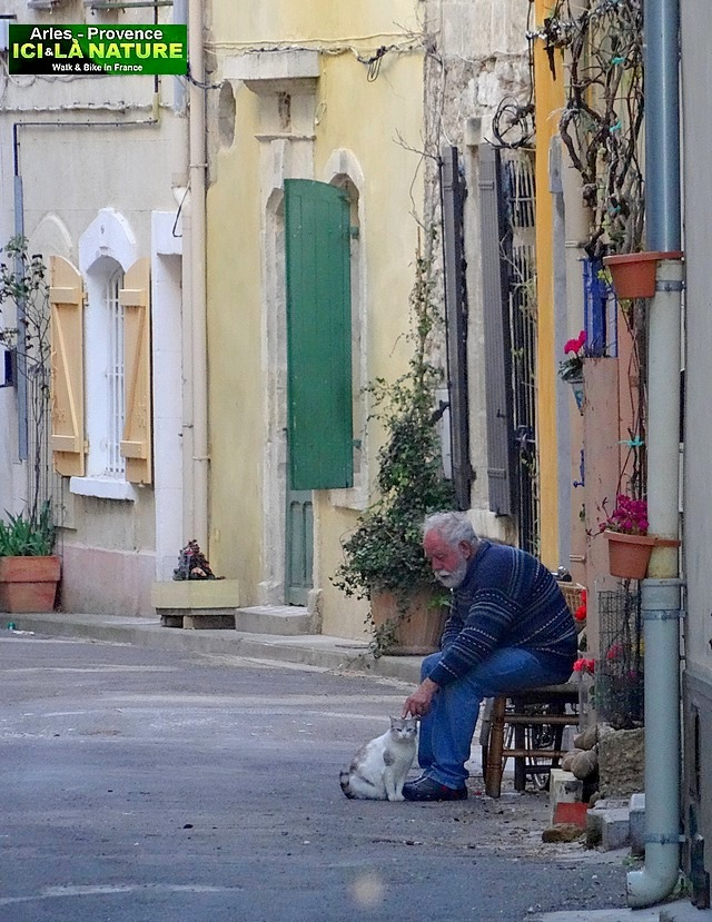 26-old man and his cat