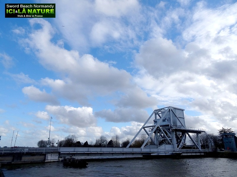 38-PICTURE OF PEGASUS BRIDGE BENOUVILLE