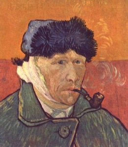 52-van gogh Self-portrait with Bandaged Ear arles