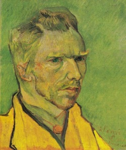 53-van gogh Self-portrait, Arles 1888