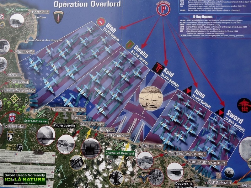 54-OPERATION OVERLORD MAP