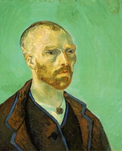 54-van gogh in arles Self-portrait dedicated to Paul Gauguin