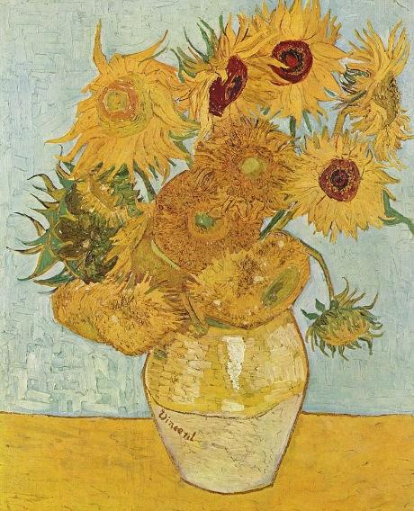 57-VAN GOGH ARLES Sunflowers
