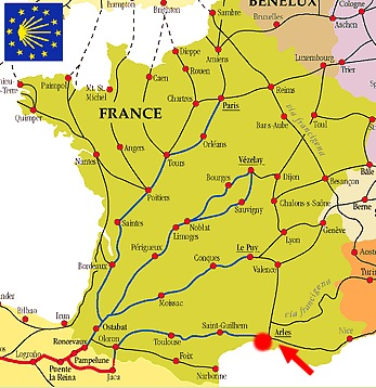 way of st james map france 2
