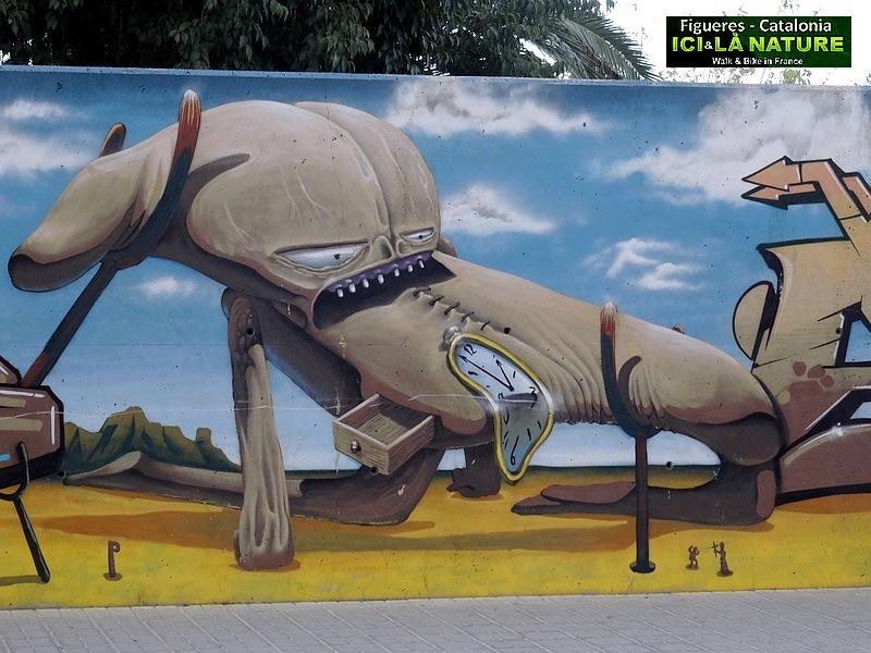 33-catalonia street art dali figueres