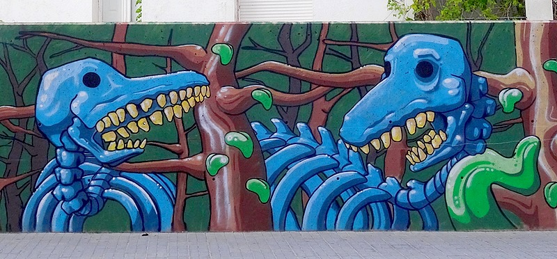 34-dali in spain street art