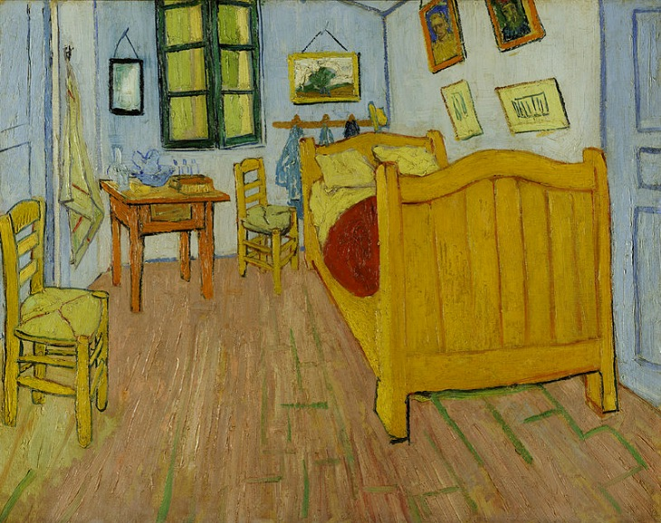 58-VAN GOGH Bedroom in Arles