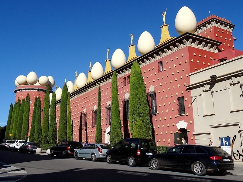 FIGUERES MUSEUM DALI SPAIN