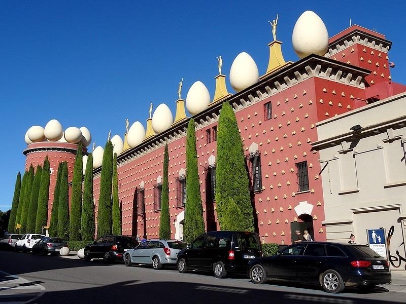 FIGUERES MUSEUM DALI SPAIN