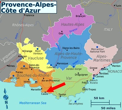 France Provence The hidden coves calanques of Cassis 40
