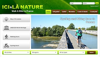 cycling hiking tours france