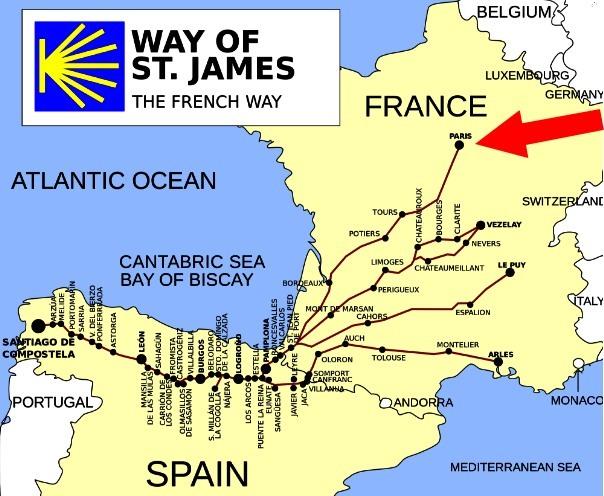 french-ways-to-santiago-de-compostela