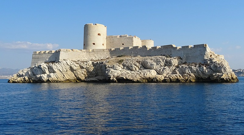 France – Marseille – Chateau d' If, count of Monte Christo island prison – 30 photos.