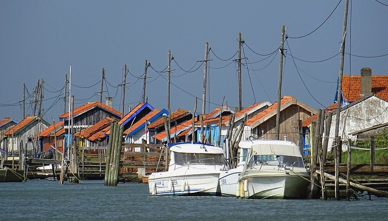 "France – Velodyssey : The "" Port de la Cayenne"" , Marennes – La Tremblade – 30 photos"