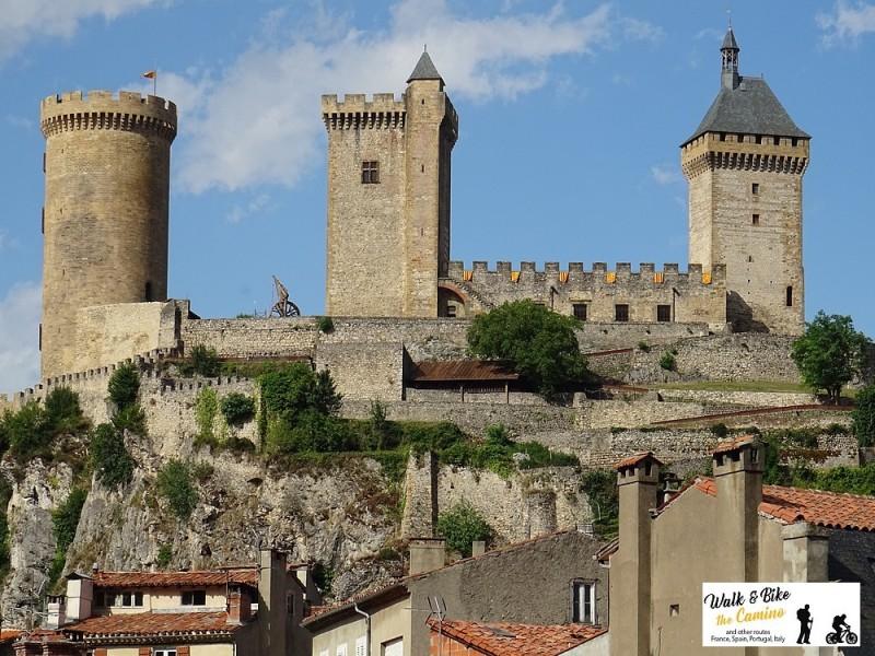 19- foix medieval castle france