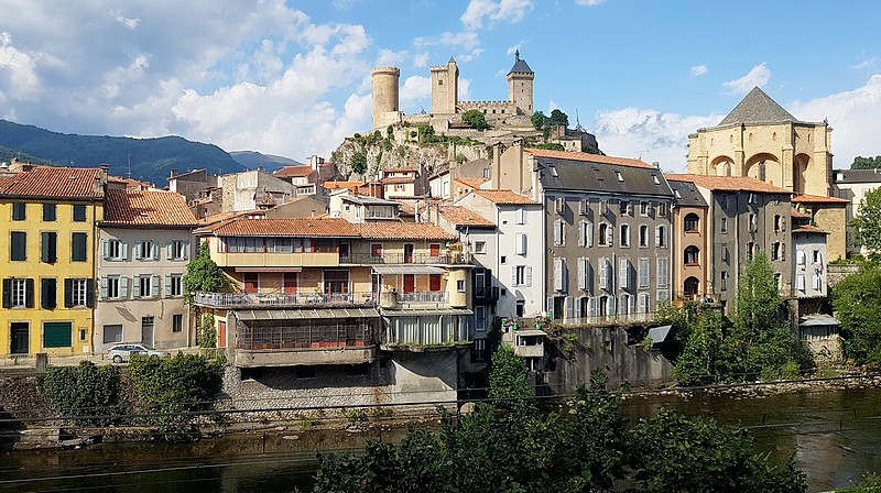 France : Cathar Castles Trail – Foix – 30 photos.